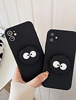cheap -Case For Apple iPhone 12 / iPhone 11 / iPhone 12 Pro Max Shockproof / with Stand Back Cover Cartoon TPU
