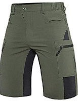 cheap -men's-hiking-shorts lightweight-quick-dry-outdoor-cargo-casual-shorts for hiking, camping, travel, fishing army green