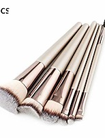cheap -luxury champagne makeup brushes set for foundation powder blush eyeshadow concealer large make up brush cosmetics beauty tool 25 6pcs1