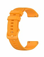 cheap -22mm silicone watch bands compatible for fossil men's gen 5 carlyle/gen 4 explorist hr/women's gen 5 julianna smart watch, replacement quick released sport fitness watch strap-orange