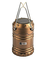cheap -collapsible solar led camping lanterns brighter & long lasting - scalable led lights with usb rechargeable camping tent lights for home & outdoor (glod)