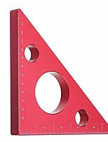 cheap -aluminum alloy measuring layout tool miter scriber gauge metric/inch, triangle ruler square tool 14cm/5.5inch