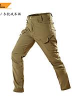 cheap -men's zip-off hiking pants-trekking pants (mud, l)