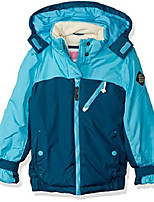 cheap -girls' little board jacket, lagoon, 4