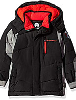 cheap -boys' little expedition unknown bubble jacket, black, 7