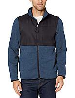 cheap -men's big and tall sweter fleece denali jacket, black, xxx-large