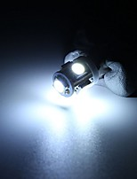 cheap -car 12v 5 smd led ba9s t4w w5w t10 indicator light bulb lamp 5 color - (color: white)