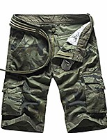 cheap -camouflage camo cargo shorts mens casual shorts loose work shorts military short 1566greencamo 29