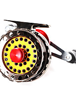 cheap -Fishing Reel Fly Reel 2.6:1 Gear Ratio+4 Ball Bearings Fly Fishing / Bass Fishing / Right-handed / Left-handed