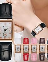 cheap -Women's Quartz Watches Quartz Stylish Luxury Casual Watch Analog White Black Blue / PU Leather