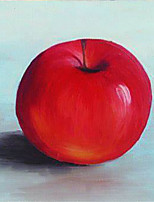 cheap -Apple Oil Painting On Canvas Abstract Contemporary Art Wall Paintings Handmade Painting Home Office Decorations Canvas Wall Art Painting