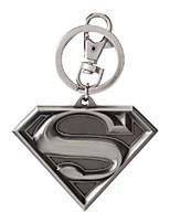 cheap -superman logo pewter keyring