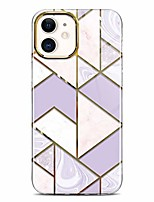 "cheap -glitter sparkle metal luster case compatible with iphone 12 and iphone 12 pro marble design clear shockproof tpu bumper hard pc back cover slim protective phone case 6.1"" 2020 pink purple"
