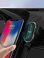 cheap -Remax RM-C38 Wireless Car Charger Holder Auto-Clamping 10W Qi Fast Charging Car Charger Mount Air Vent Phone Holder for iPhone 11/11Pro/11 Pro Max/XS Max/XS/XR/X/8 Samsung etc Black