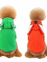 cheap -puppy hoodies coat sweater for small dogs winter dog sweatshirt frog fox animal cartoon dog sweater dog coats pet dog hoodie clothes for dog cats