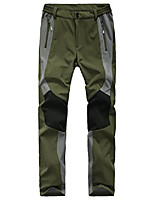 cheap -women's stitching color patchwork pants waterproof waterproof breathable soft shells pants hiking trousers