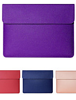 cheap -11.6 Inch Laptop / 12 Inch Laptop / 13.3 Inch Laptop Sleeve / Tablet Cases PU Leather / Polyurethane Leather Textured / Contemporary for Men for Women for Business Office Waterpoof Shock Proof