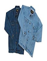 cheap -men's classic style blue jean jacket - sky xl