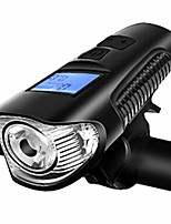 cheap -headlights charging glare flashlight riding equipment accessories night riding lights mountain lights (color : black)