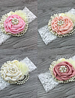 cheap -1pcs Toddler Girls' Sweet Floral Floral Style Hair Accessories Blushing Pink / Dusty Rose / Orange