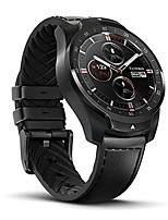 cheap -ticwatch pro bluetooth smart watch, layered display, nfc payment, google assistant, wear os by google (formerly android wear),compatible with iphone and android (black)