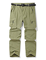 cheap -men's quick dry pull on cargo pants, outdoor hiking camping fishing khaki 40