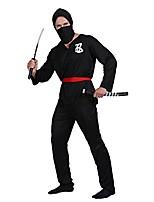 cheap -ninja men warrior costume