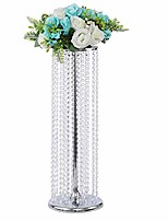 cheap -27.5'tall wedding table centerpiece, candle holder, candlestick, road lead flower stand, wedding home christmas decoration christmas decor decorations for living room (silver, 27.5)