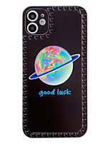cheap -Case For Apple iPhone 11 / iPhone XR / iPhone 11 Pro Shockproof / Pattern Back Cover Word / Phrase / Cartoon Silica Gel
