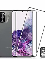 cheap -galaxy s20 screen protector + camera lens protector [ 2 + 2 pack ][compatible fingerprint] [case friendly] [anti-scratch] [anti-bubble] clear hd protective film for samsung galaxy s20