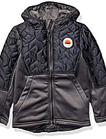 cheap -boys' little midweight jacket, grey, 6