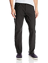 cheap -men's durable cotton regular trousers, black, 34 x 32
