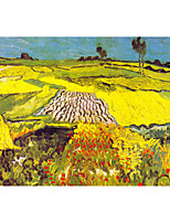 cheap -Landscape Oil Painting On Canvas Abstract Contemporary Art Wall Paintings Handmade Painting Home Office Decorations Canvas Wall Art Painting