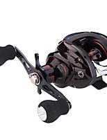 cheap -Fishing Reel Baitcasting Reel 7.2:1 Gear Ratio+6 Ball Bearings Sea Fishing / Bait Casting / Freshwater Fishing / Trolling & Boat Fishing / Right-handed