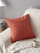 cheap -Cushion Cover Simple Modern Solid Colored Super Soft Chenille Pillow Case Cover Living Room Bedroom Sofa Cushion Cover Modern Sample Room Cushion Cover