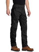 cheap -outdoor clothing pants tactical pants for men waterproof ripstop cargo pants military hiking pants casual apparel black