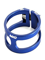 cheap -msc ult. alu7075 t6 cnc collar for bicycle seatpost 34.9 mm blue blue anodized