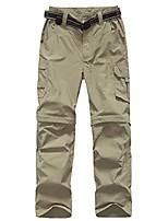 cheap -mens quick drying two detachable camping hiking convertible pants 225 khaki x-small