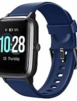 cheap -health and fitness smartwatch with heart rate monitor, smart watch for home fitness tracking, yoga, exercise bike, treadmill running, compatible with iphone and android phones for women men