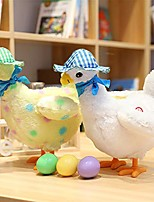cheap -hen laying eggs toy, the magic chicken with 3 eggs, soft body, realistic sound, singing and swinging, laying egg chicken toy, electric musical plush stuffed animal toy gift for kids (white)