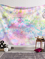 cheap -Wall Tapestry Art Decor Blanket Curtain Hanging Home Bedroom Living Room Decoration Polyester Novelty Colorful Halo Dye