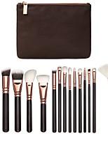 cheap -15 Pcs Makeup Brush Set Eye Makeup Brush Multi Functional Beauty Tool Portable