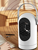 cheap -Shaking Head Heater Adjustable Household Small Portable Heating and Cooling Dual-purpose Vertical Heater