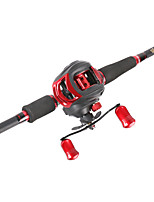 cheap -Fishing Rod and Reel Combo Casting Rod 2.1 cm Carbon Portable Heavy (H) Sea Fishing Bait Casting Freshwater Fishing / Trolling & Boat Fishing