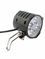 cheap -bicycle light electric bicycle headlight 12v 24v 36v 48v 60v 72v bicycle light with horn waterproof headlight black