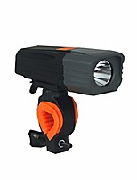 cheap -bicycle headlight lamp night light usb rechargeable flashlight lights single (color : silver)