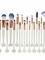 cheap -fashion girl single product 20pcs cosmetic makeup brush blusher eye shadow brushes set kit pincel,a