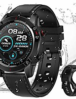 cheap -smart watch for android phones and ios phones compatible iphone samsung, ip67 waterproof smartwatch fitness tracker, sleep monitoring, heart rate monitor watches for men women (black)