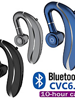 cheap -LITBest 10 Driving Wireless Earbud Ear Hook Bluetooth Earphone 210mAh Single Handfree with Microphone for Iphone11 Samsung HUAWEI ALL