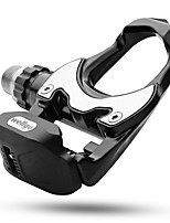 cheap -Bike Pedals Road Bike Solid Non-slipping Alumium Alloy for Cycling Bicycle Cycling / Bike Black